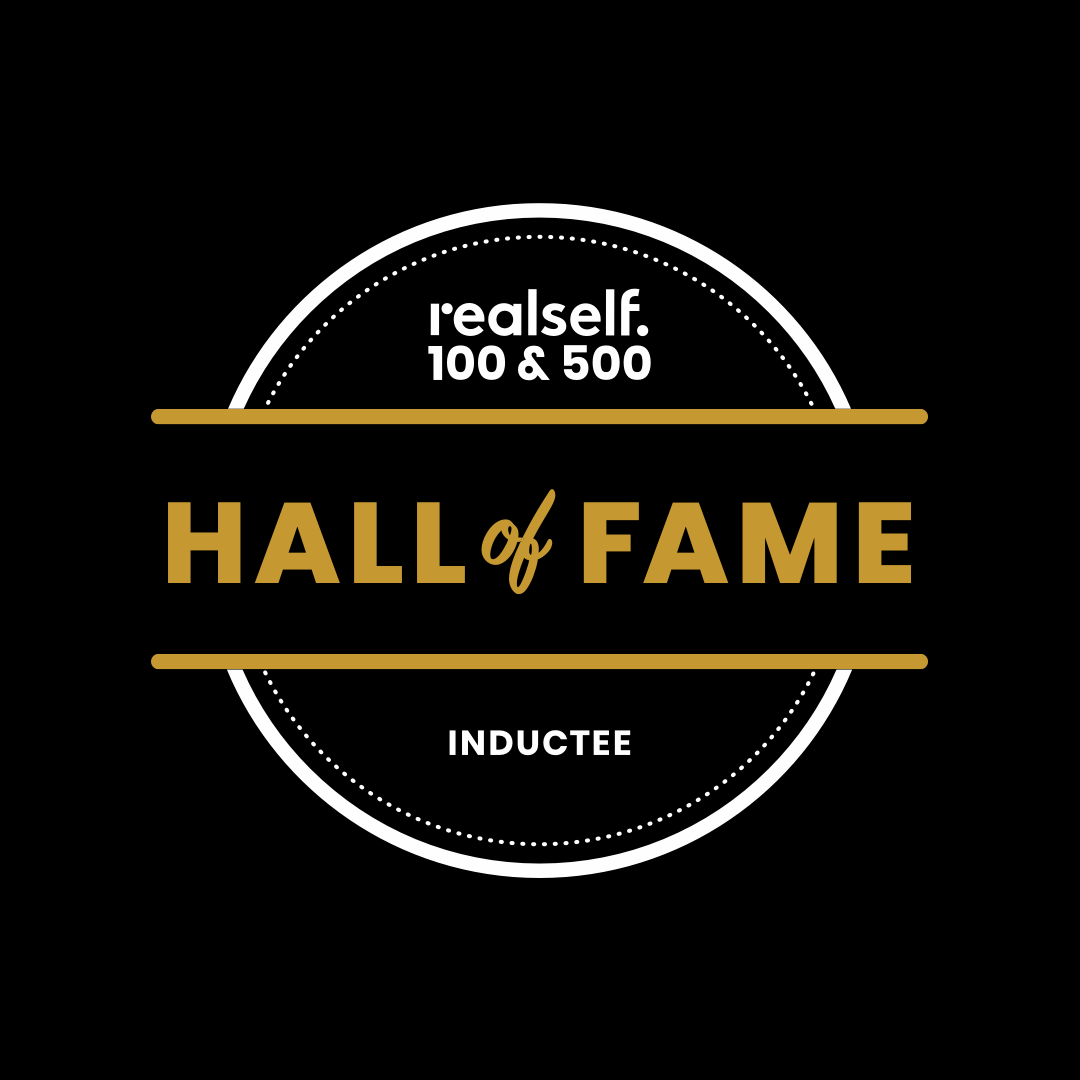 RealSelf Hall of Fame badge for Dr. John Corey
