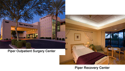 Piper Surgery Center in Scottsdale, Arizona